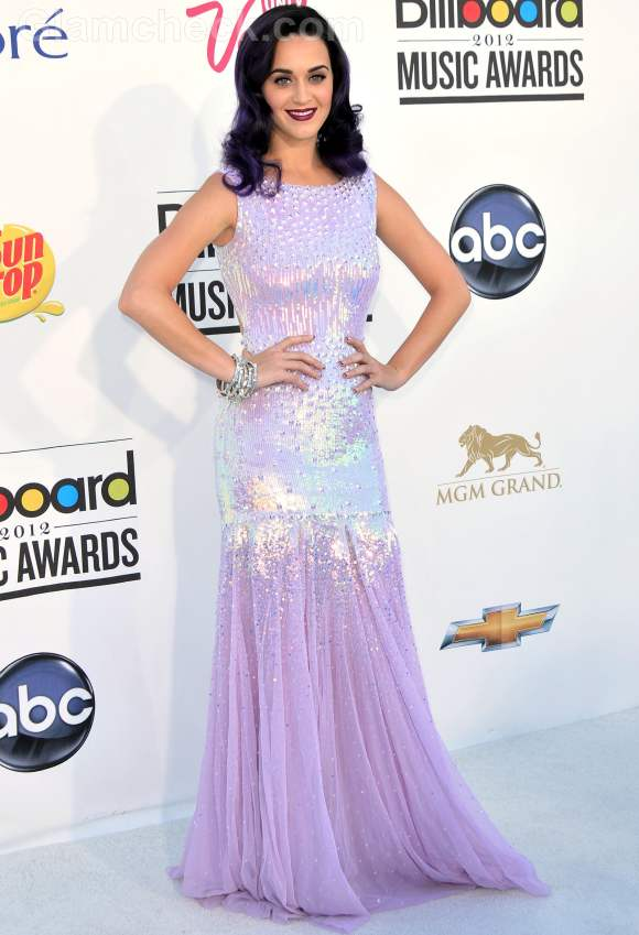 Celebrity gowns at 2012 billboard music awards Katy Perry