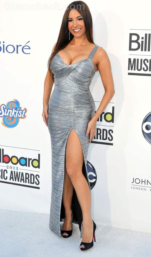 Celebrity gowns at 2012 billboard music awards Mayra Veronica