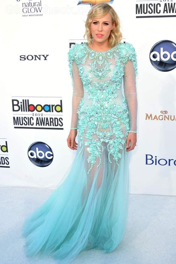 Celebrity gowns at 2012 billboard music awards Natasha Bedingfield