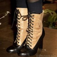 Footwear trends fall-winter 2012 Brogue boots Candela