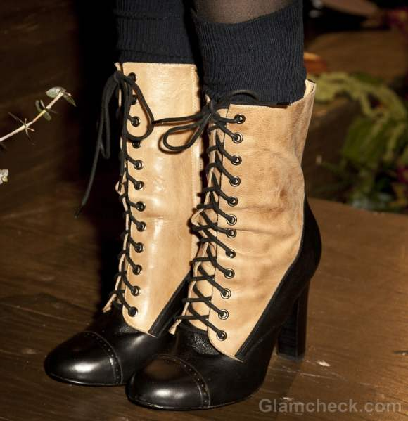 Footwear trends fall-winter 2012 Brogue boots Candela