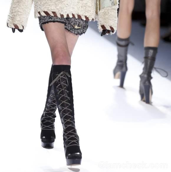 Footwear trends fall-winter 2012 Brogue boots Custo Barcelona