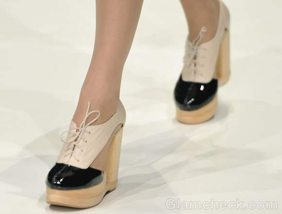 Footwear trends fall-winter 2012 Brogue shoes Dima Neu