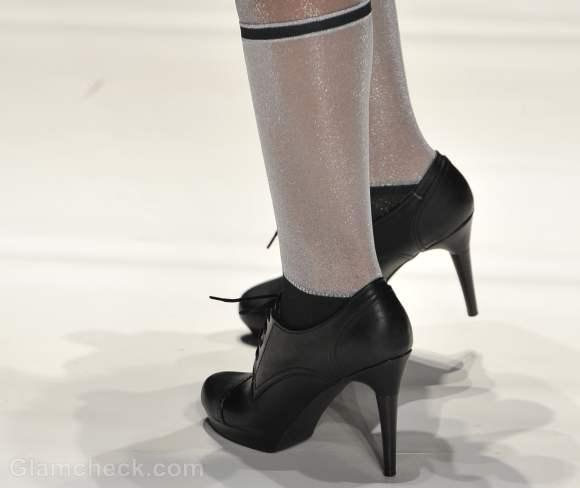 Footwear trends fall-winter 2012 Broguepumps Yana Gattaulina