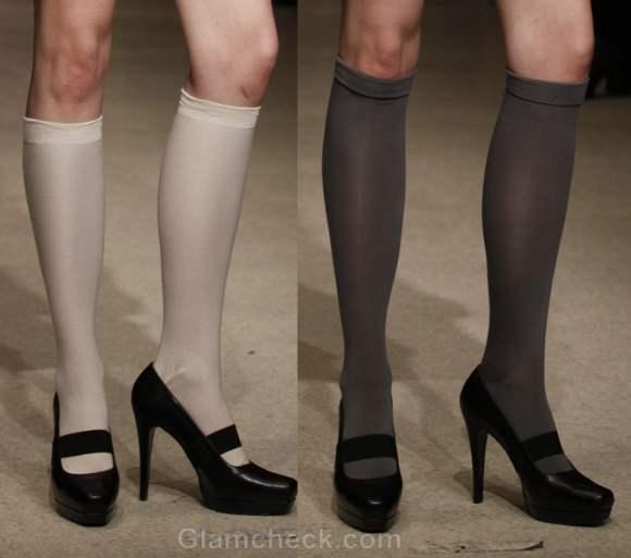 Footwear trends fall-winter 2012 pumps Pink Douglas Hannant