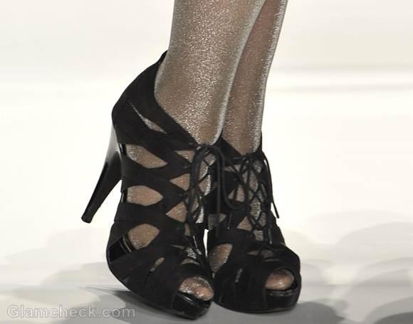 Footwear trends fall-winter 2012 pumps gladiator Yana Gattaulina