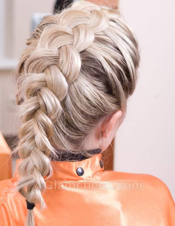 Hairstyle how to french braid bun-4