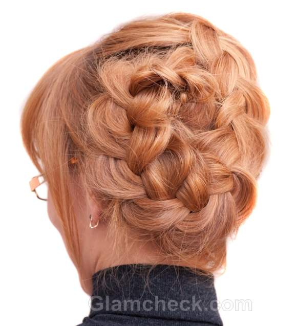 Hairstyle how to french braid bun hairstyle how to french braid bun ccuart Images