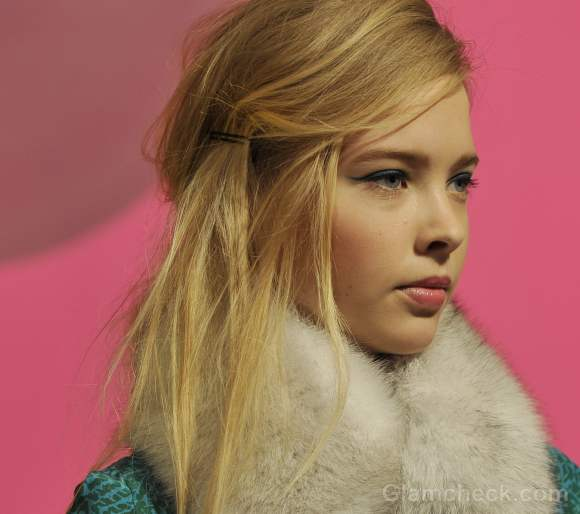 Hairstyle how to side swept messy hair corey lynn calter fall-winter 2012