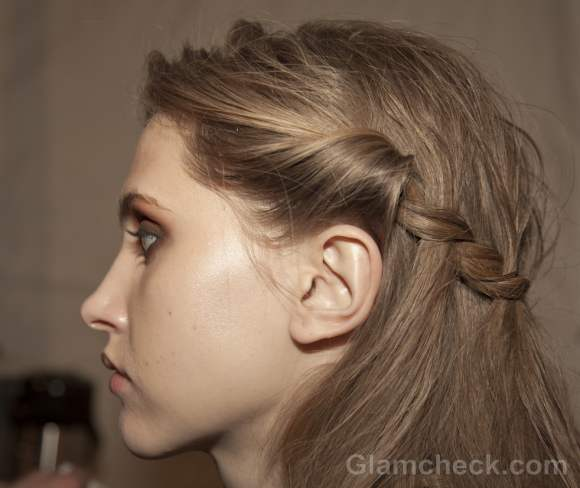 Hairstyle How To Milkmaid Braids With A Twist