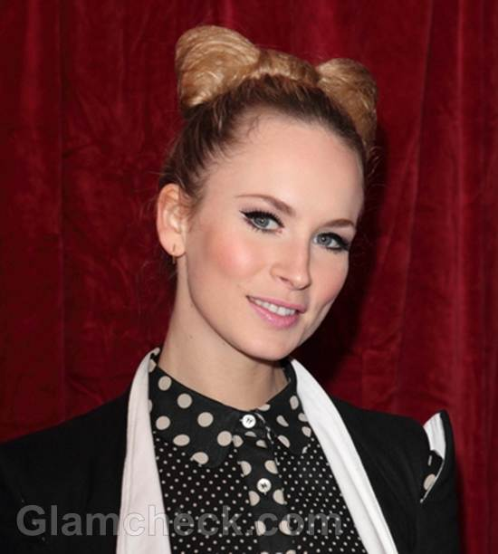 Holly Weston hairstyle