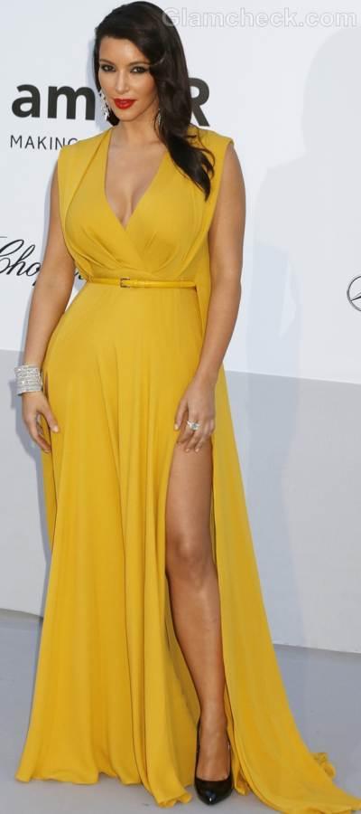 Kim Kardashian 2012 amfARs cinema against aids