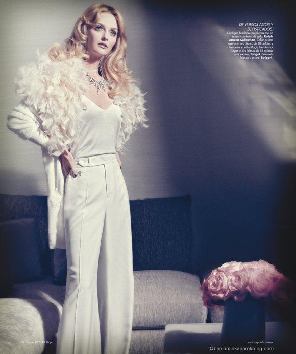 Lydia Hearst by Benjamin Kanarek for Harpers Bazaar May 2012-11