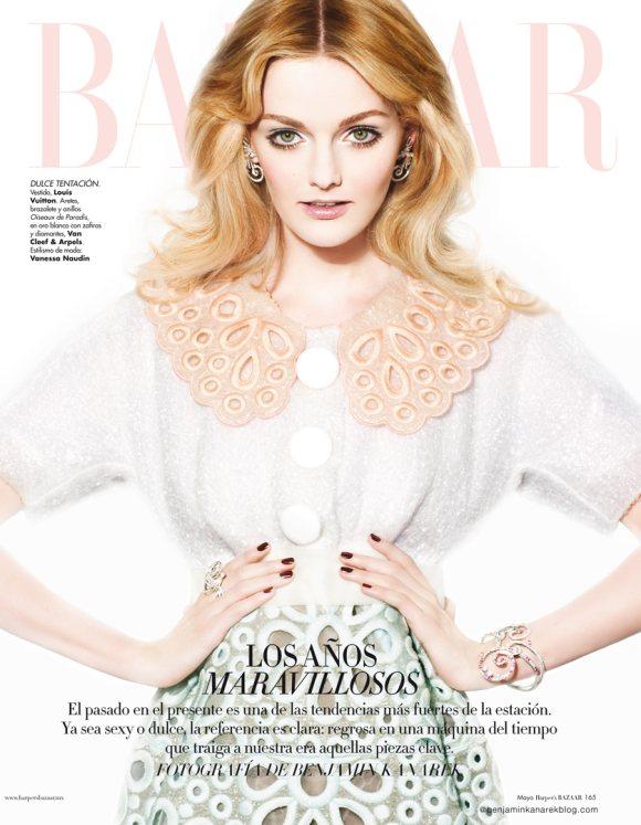 Lydia Hearst by Benjamin Kanarek for Harpers Bazaar May 2012-3