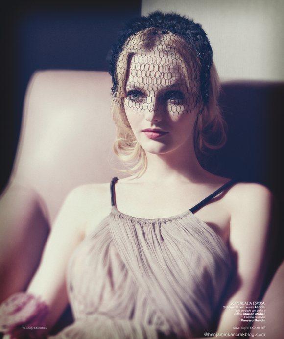Lydia Hearst by Benjamin Kanarek for Harpers Bazaar May 2012-5