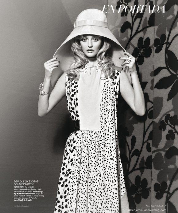 Lydia Hearst by Benjamin Kanarek for Harpers Bazaar May 2012-7