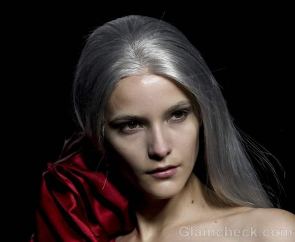 Maria Barros fall-winter 2012 hairstyle chic salt and pepper-3
