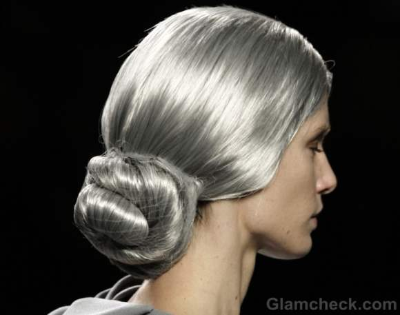 Maria Barros fall-winter 2012 hairstyle chic salt and pepper-2