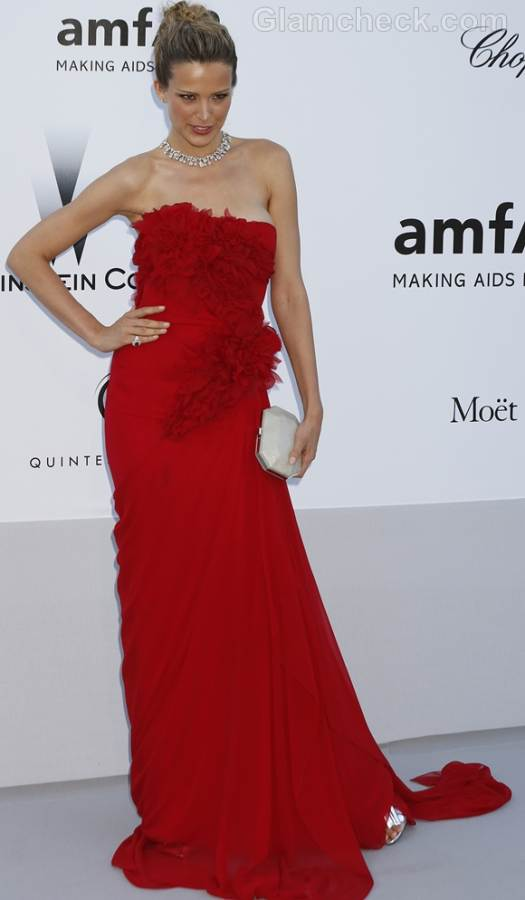 Petra Nemcova  2012 amfARs cinema against aids