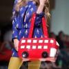 Style pick london decker handbag rodnik band