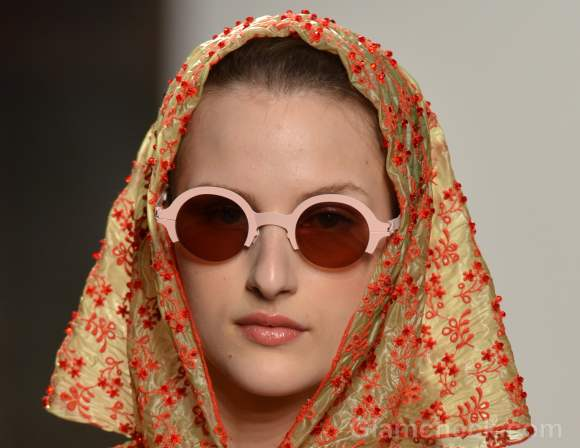 Style pick pastel round frame sunglasses-Alexandre Herchcovitch Spring 2012