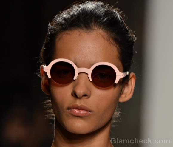 Style pick round frame sunglasses-Alexandre Herchcovitch Spring 2012