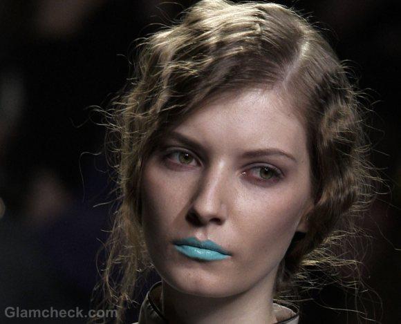 aqua blue lips fall-winter 2012 Lemoniez
