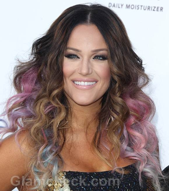 Celebrity Hair Color : celebrity hair color-Lacey Schwimmer-2012 billboard awards