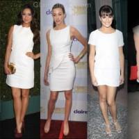 celebs white dress summer style inspiration