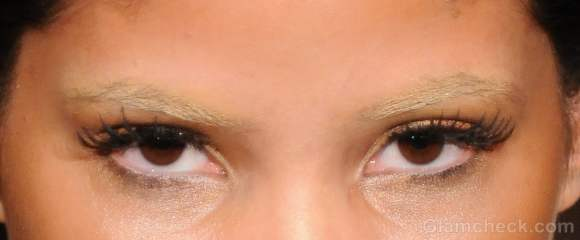 how to achieve bleached eyebrows makeup