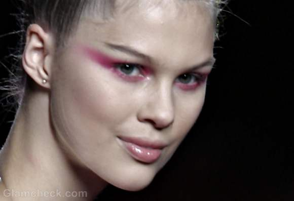 how to exaggerated eye shadow fall-winter-2012
