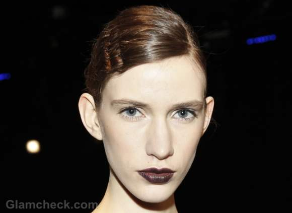 vampy dark lips-how-to fall-winter 2012