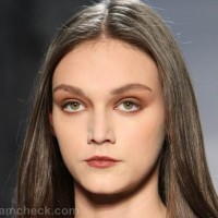 Beauty how to brown eyes lips fall-winter 2012 pamella roland