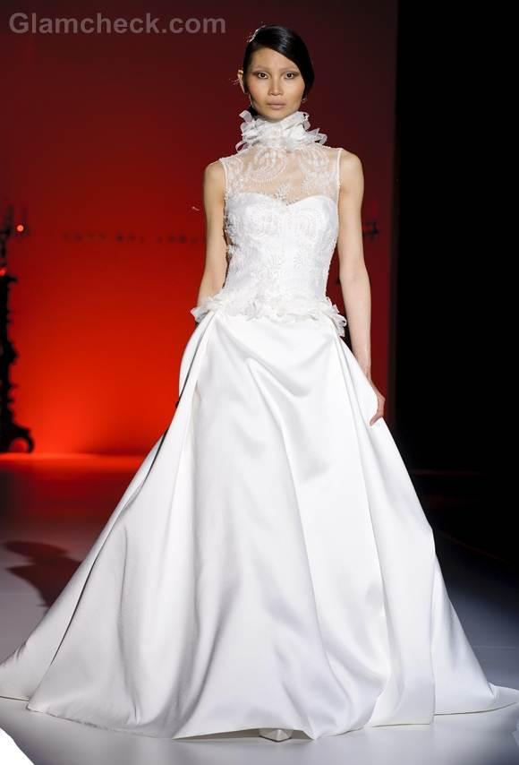 Bridal trends 2013 hannibal laguna bridal collection Spring 2013-10