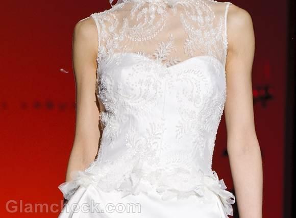 Bridal trends 2013 hannibal laguna bridal collection Spring 2013-5