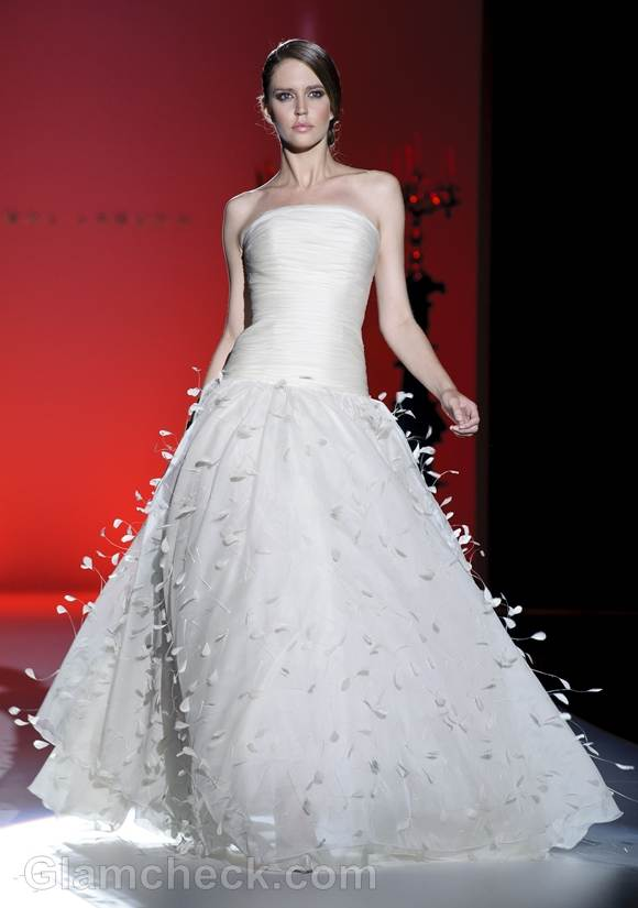Bridal trends 2013 hannibal laguna bridal collection Spring 2013