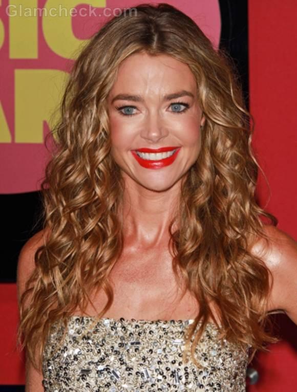 Denise richards curly hair