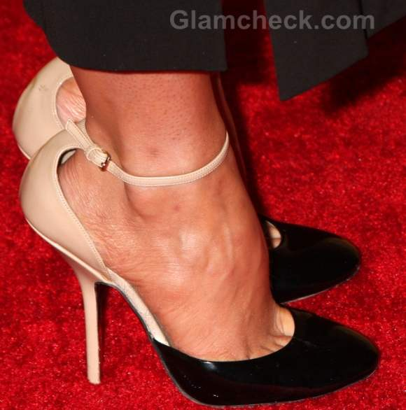 Fashion faux pas poor fitting heels stana katic