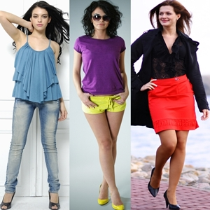 How to wear jeans shorts skirts women