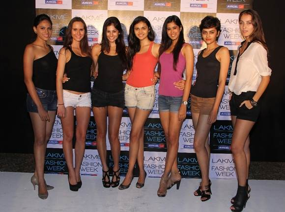 Lakme fashion week winter festive 2012- 7 new faces jyotpriya petra jami shweta parul natasha stella