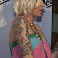 Misfit Dior arm tattoos meanings