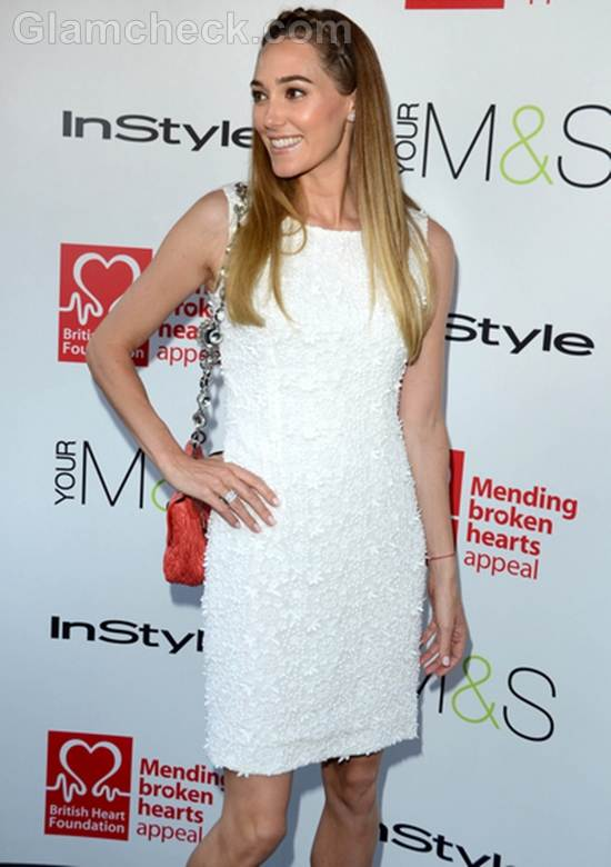 Style Inspiration wearing the little white dress Jacqui Ainsley