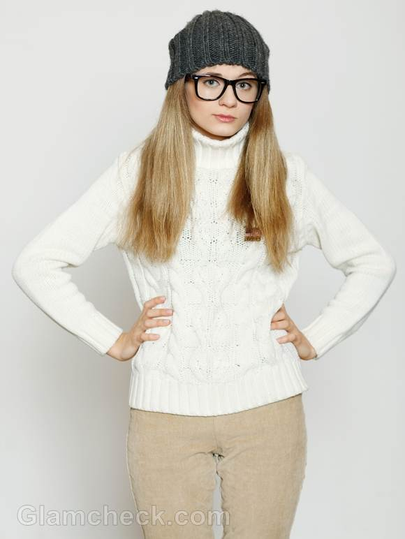Style Pictures white beige combination
