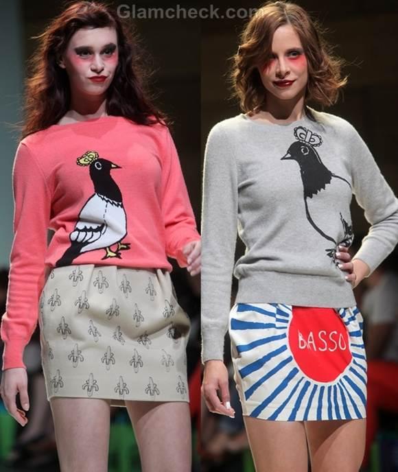 Style pick bird print t-shirts phillip colbert rodnik band fall 2012