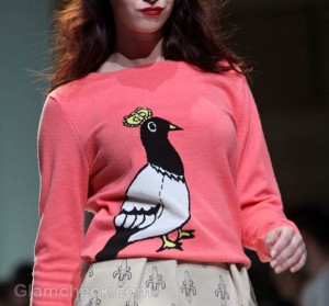 Style Pick of The Day:  Huge Bird Print T-shirts