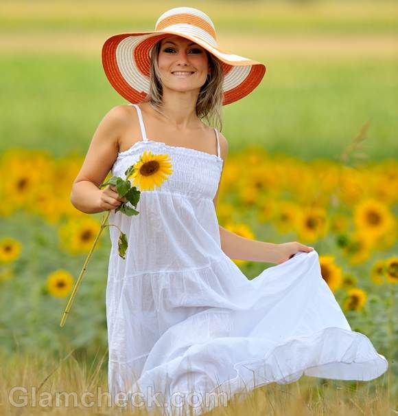 Style pictures summer white maxi dress