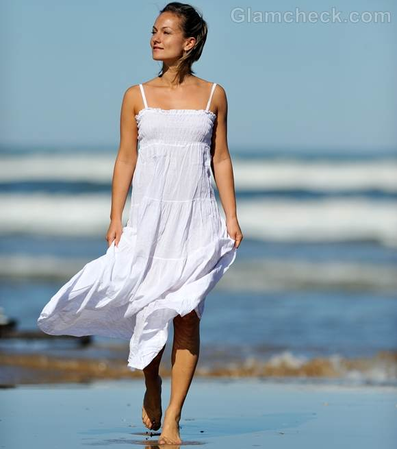 Style pictures white maxi dress