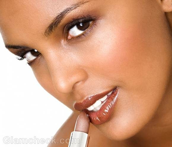 Summer lipstick colors-brown