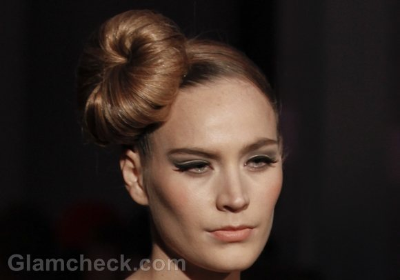 ballerina bun-sock bun hairstyle how to