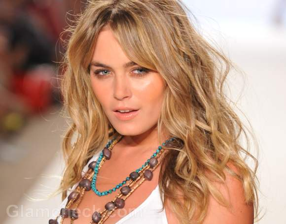 beach hairstyles curly hair accessories spring summer 2012